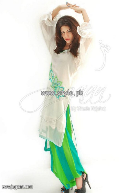 Jugaan Eid Collection 2013 For Women 007