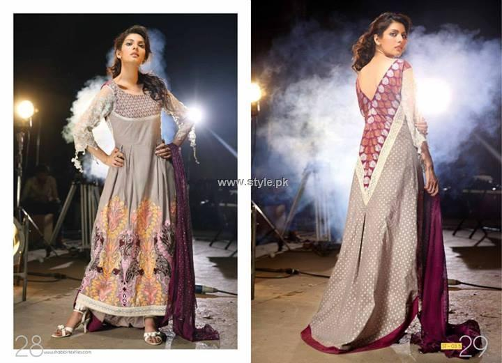 Kiran Komal Pearl Collection 2013 by Shabbir Textiles