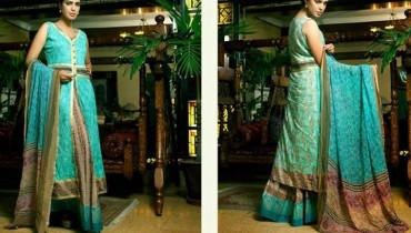 Libas Eid Collection 2013 by Shariq Textiles