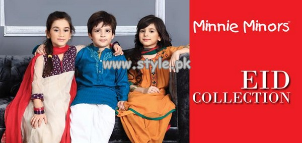 Minnie Minors Eid Collection 2013 For Kids 001 kids wear 2