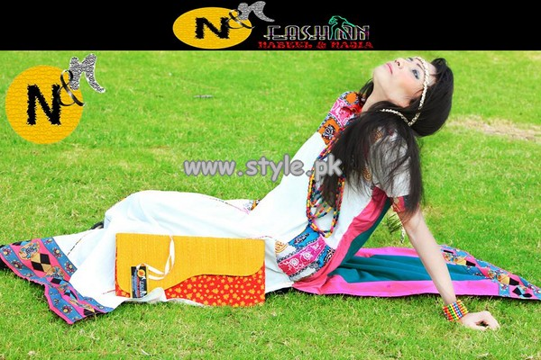 Nabeel and Najia Eid Collection 2013 For Women 005
