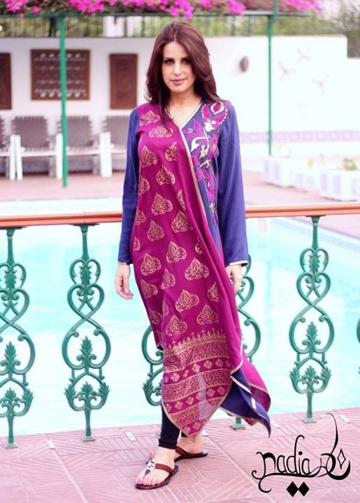 Nadia Farooqui Eid Collection 2013 for Women 002 pakistani dresses