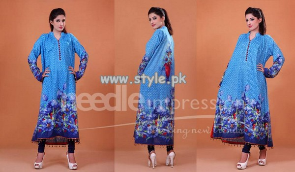 Needle Impressions Eid Collection 2013 For Girls 002