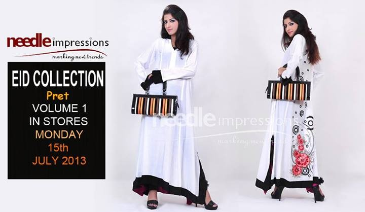Needle Impressions Pret 2013 Collection for Eid