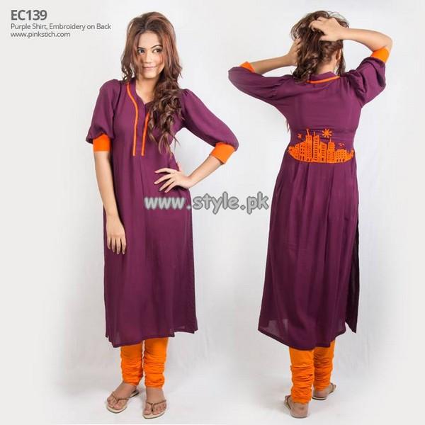 Pinkstich Eid Dresses 2013 For Women 007