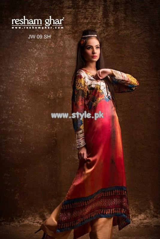 Resham Ghar Eid Collection 2013 For Girls 004