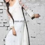 Sahar Ismail Clothing Eid Dresses 2013 For Girls 004