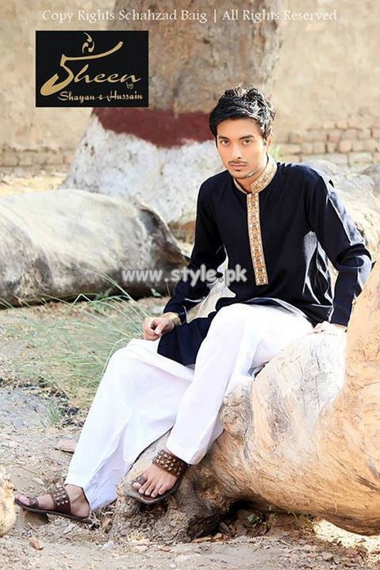 Sheen by Shayan-e-Hussain Eid Collection 2013 For Boys 004