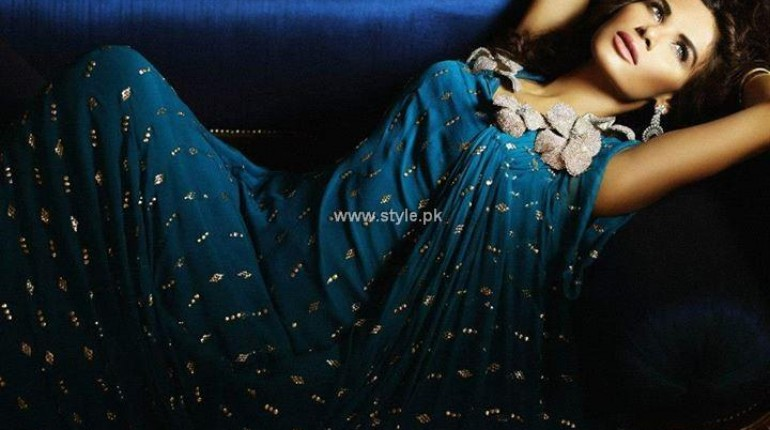 Teena by Hina Butt New Party Wear 2013 for Eid