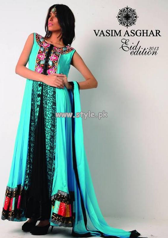 Vasim Asghar Eid Collection 2013 For Girls 005