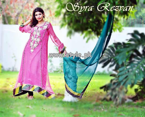 Vibgyor by Syra Eid Dresses 2013 For Girls 002