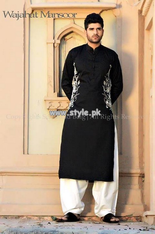 34d9461e4f Wajahat Mansoor Eid Collection 2013 For Men