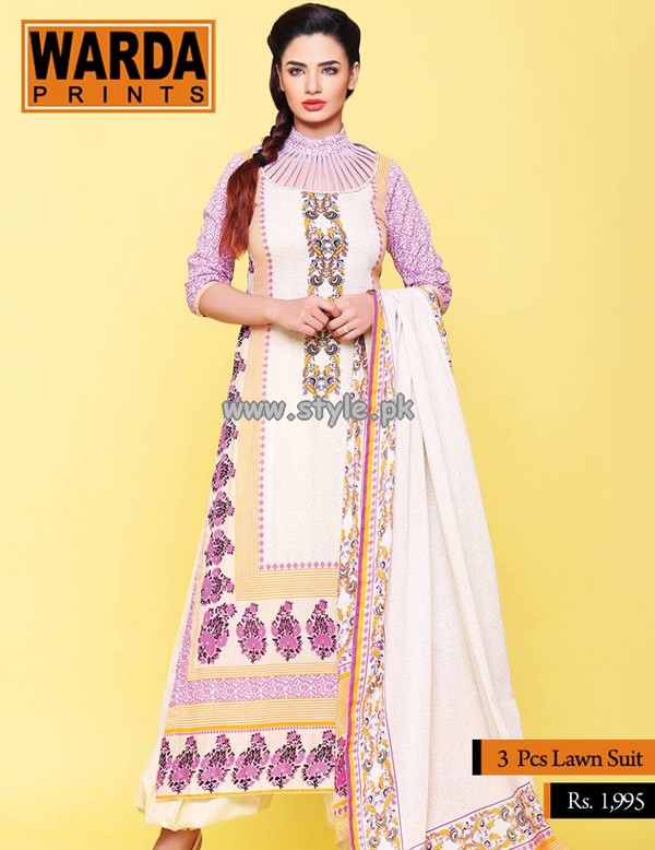 Warda Designer Collection Eid Dresses 2013 For Girls 002