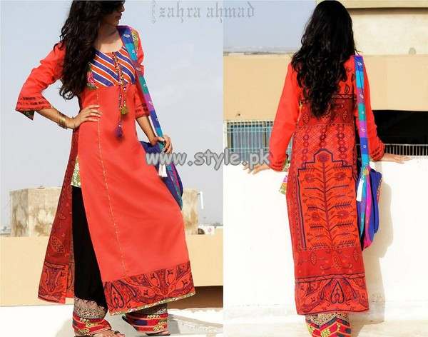 Zahra Ahmad Mid Summer Collection 2013 For Girls 001