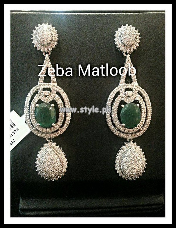 Zeba Matloob Earring Designs 2013 For Eid 004