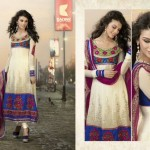Zobi Fabrics Eid Collection 2013 For Women
