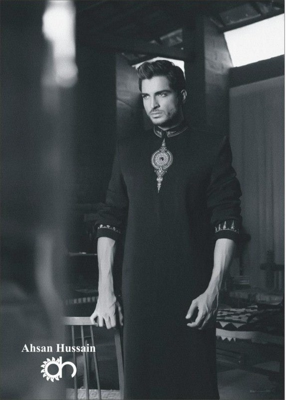 Ahsan Hussain Sherwani Collection 2013 For Men 0010