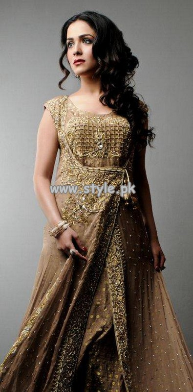 syeda amera clothing semiformal dresses 2013 for women