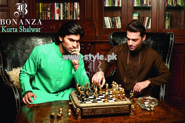 Bonanza Garments New Kurta Designs 2013 For Eid-Ul-Fitr 007