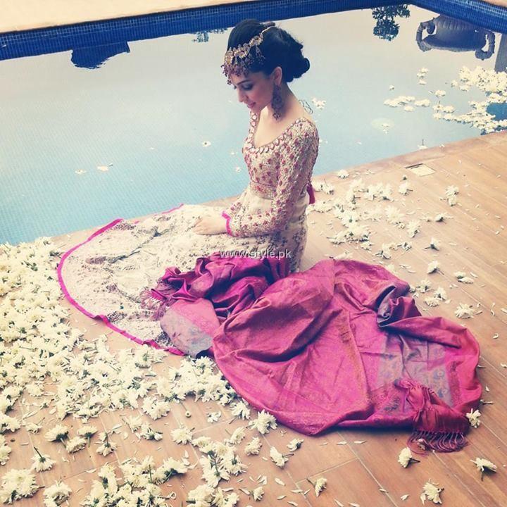 Farah Talib Aziz Bridal Wear Collection 2013