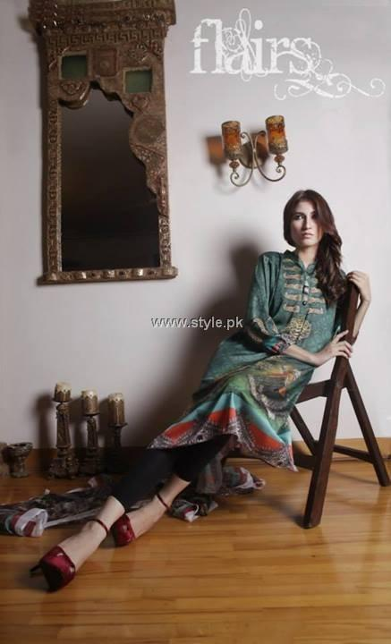 Flairs by Naureen Fayyaz New Digital Prints 2013