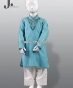 Junaid Jamshed Kurta Shalwar Designs 2013 For Kids 006