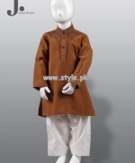 Junaid Jamshed Kurta Shalwar Designs 2013 For Kids 007