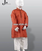 Junaid Jamshed Kurta Shalwar Designs 2013 For Kids 009