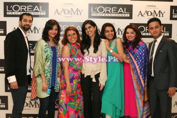 L'Oreal Professionnel Team - Rameez, Arshy, Tanzeela, Sadia, Sadaf, Ambreen, Saad