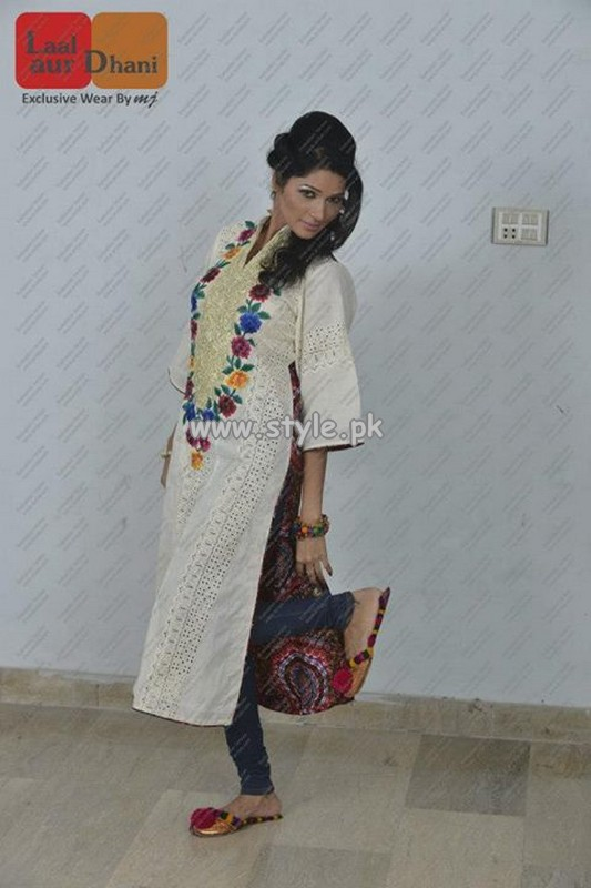 Laal Aur Dhani Mid Summer Collection 2013 For Women 007