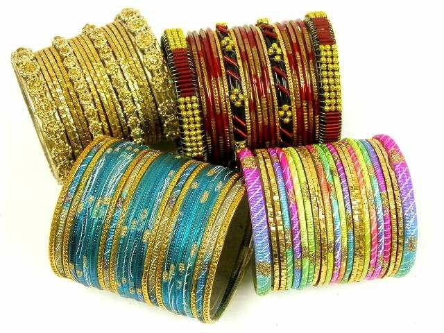 Latest Fashion of Bangle Designs for Eid 2013