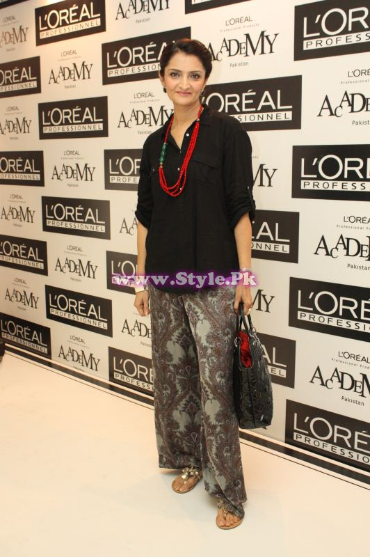 Lubna of Rain Tree on Launch of L'Oreal Professionnel's ...