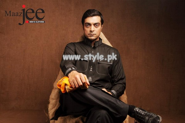 MaazJee Kurta Shalwar Collection 2013 For Eid-Ul-Fitr 004