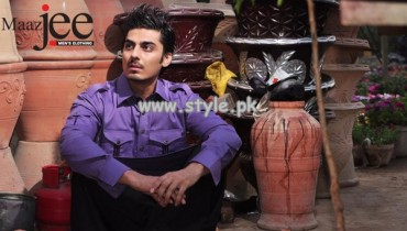 MaazJee Kurta Shalwar Collection 2013 For Eid-Ul-Fitr 006