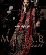 Maria B Bridal Dresses 2013 For Wedding 001 150x180 pakistani dresses designer dresses bridal dresses