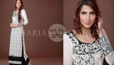 Maria Kashif Semi-Formal Wear Collection 2013 for Women