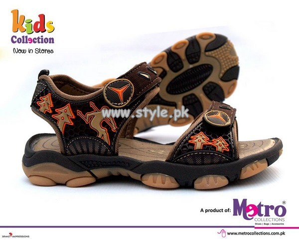 Metro Foot Wear Collection 2013 For Kids 010