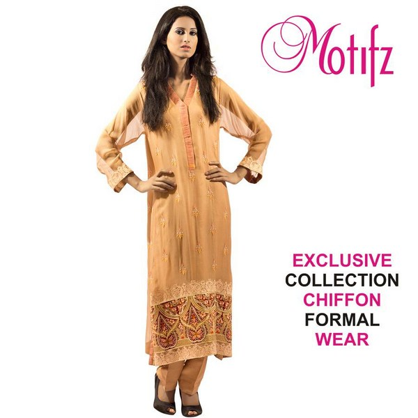 Motifz Formal Wear Collection 2013 For Women