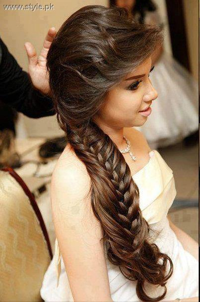 New Eid Hairstyles 2013 for Women and Girls 011 hairstyles and hair care