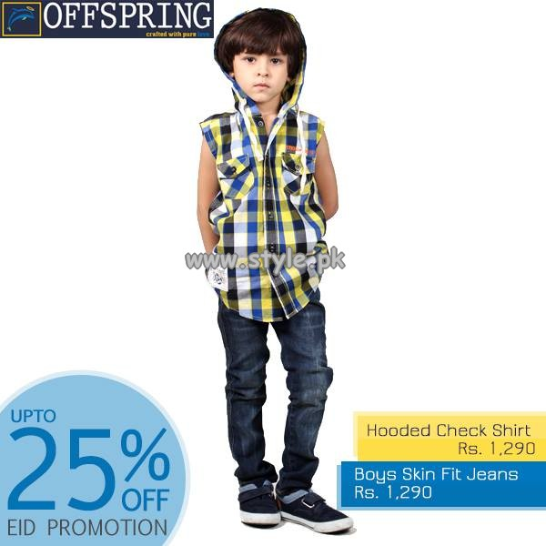 Offspring Kids Wear Collection 2013 For Eid-Ul-Fitr 011
