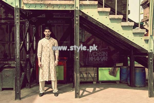 Rana Noman Menswear Collection 2013 For Summer 010