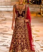 Rohit Bal Bridal Collection At Indian Bridal Fashion Week 2013 0040 150x180 international fashion brands