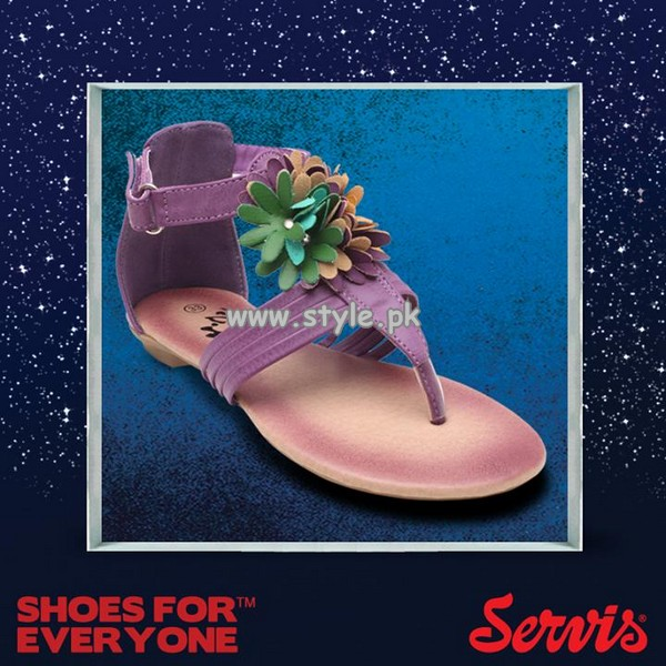 Servis Eid Foot Wear Collection 2013 For Kids 001