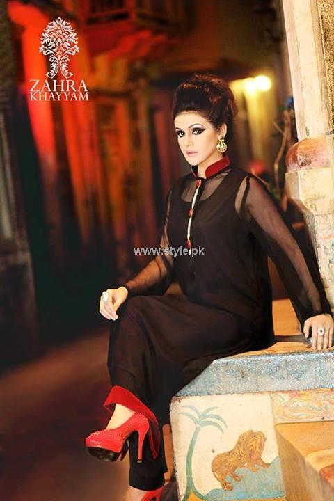 Zahra Khayyam Eid Collection 2013 for Women