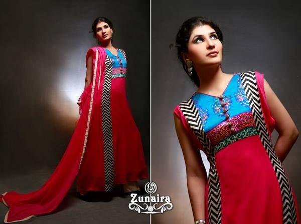 Zunaira Lounge Casual Wear Collection 2013 For Women 003