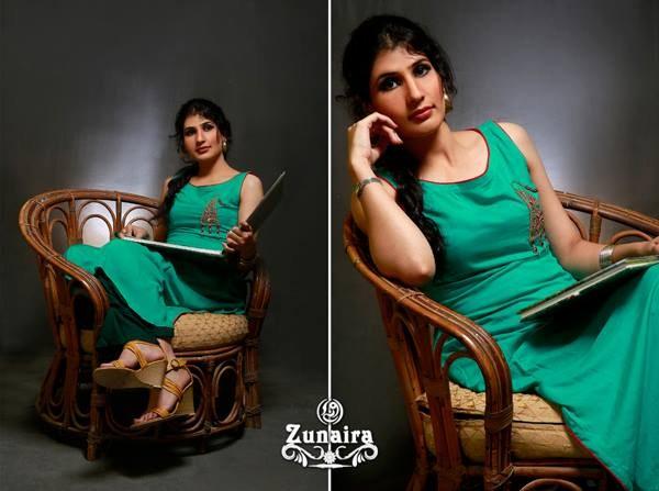 Zunaira Lounge Casual Wear Collection 2013 For Women 007