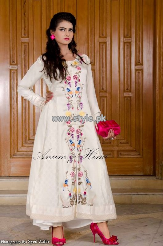 Anum and Hina Eid-Ul-Azha Collection 2013 For Girls 004