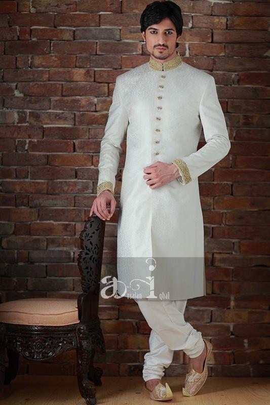 Arsalan Iqbal Sherwani Collection 2013 For Men 008