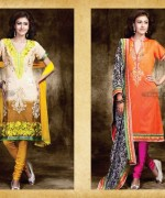Charming Designer Suits 2013 Embroidered Dresses 005