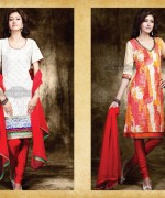 Charming Designer Suits 2013 Embroidered Dresses 007